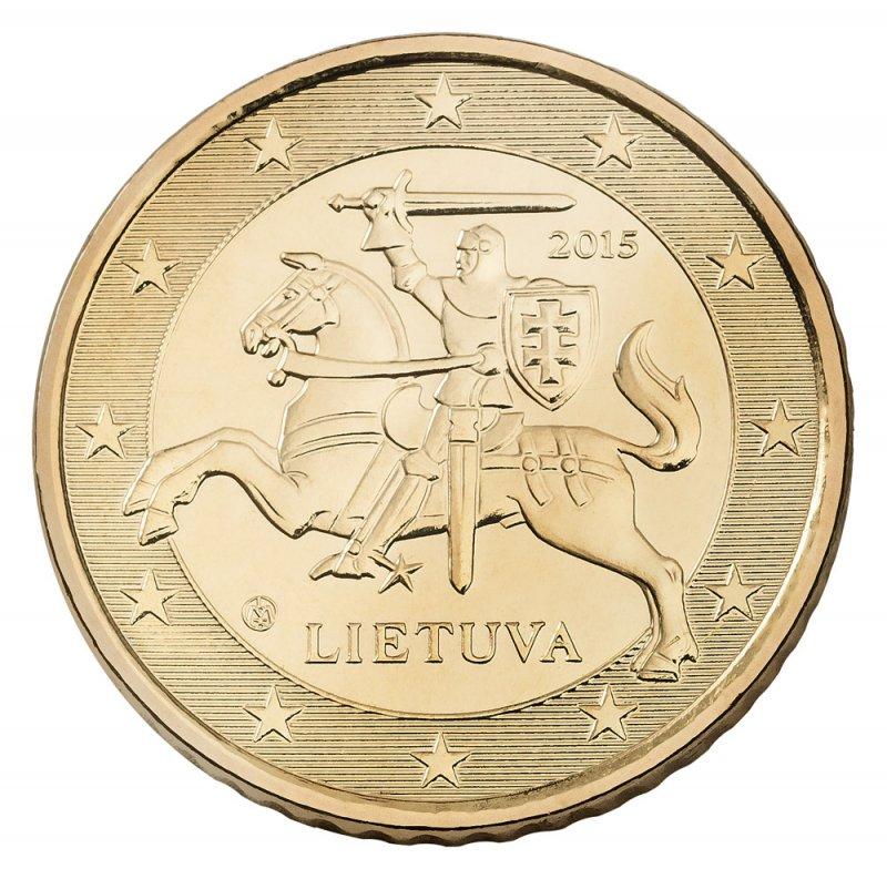 Litauische Euro-Münze: 50 Cent