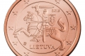Litauische Euro-Münze: 1 Cent