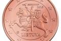 Litauische Euro-Münze: 5 Cent
