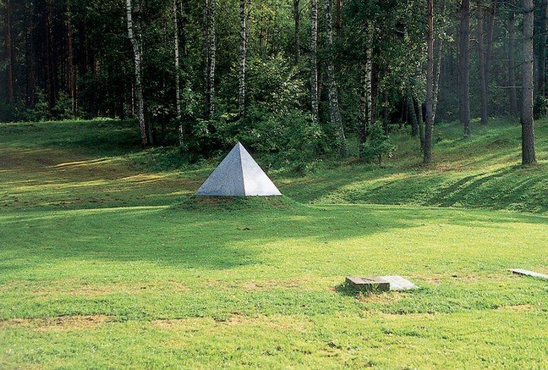 Gintaras Karosas - Monument of the centre of europe