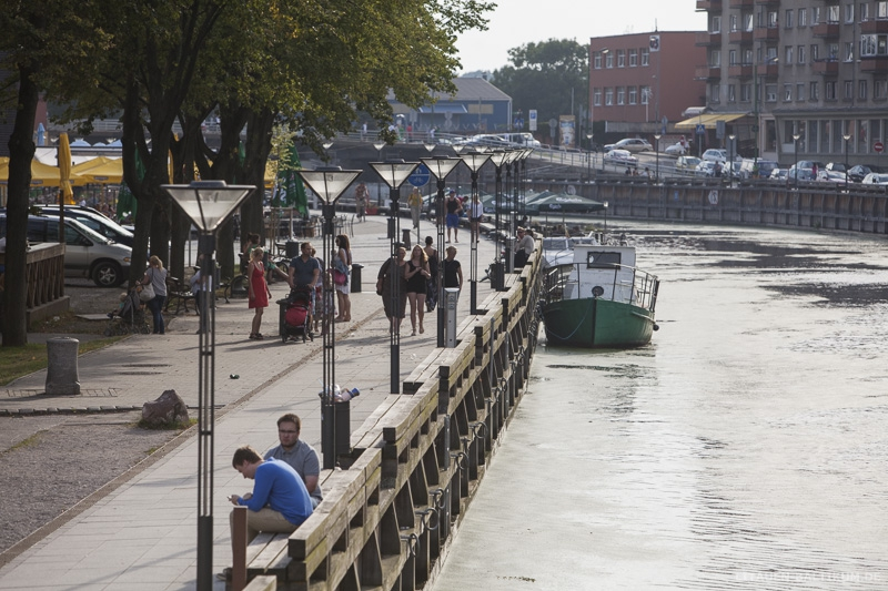 Klaipeda: Promenade