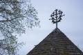 Kernavė – Kulturreservat und Welterbe: Kreuz