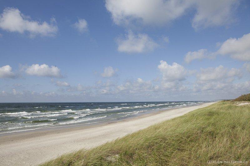 Kurische Nehrung: Strand und die Ostsee