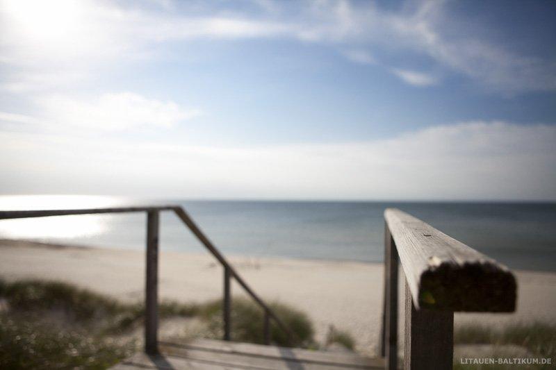 Kurische Nehrung: Treppe zum Strand