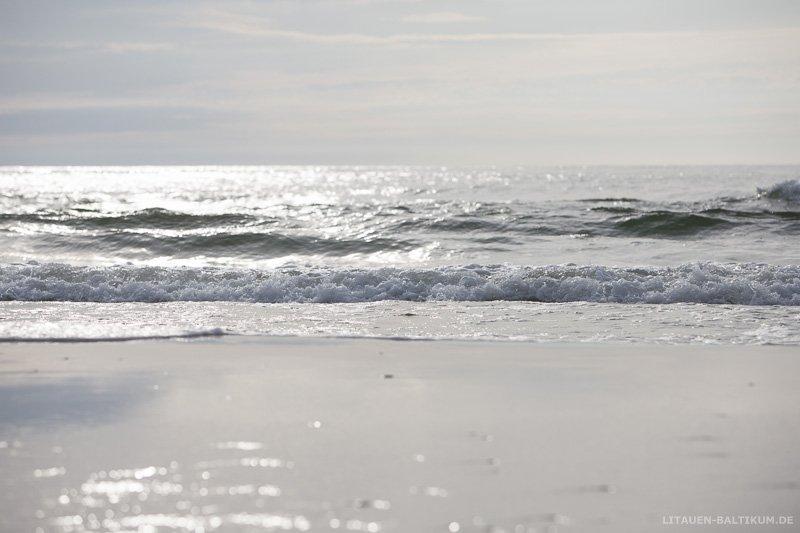 Kurische Nehrung: Brandung der Ostsee