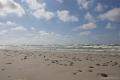 Kurische Nehrung: Wolken und Strand