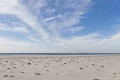 Strand und Wolken der Kurische Nehrung