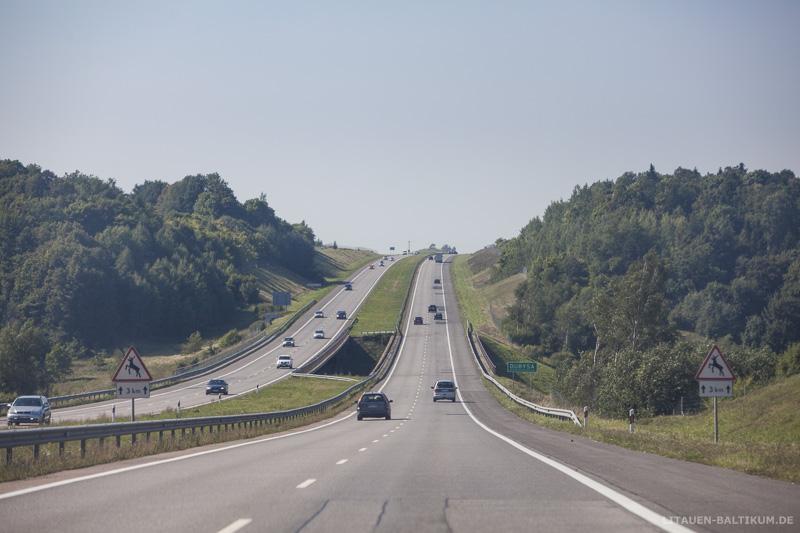 Autobahn nach Klaipėda