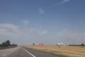 Werbung an der Autobahn