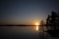 See von Trakai am Abend