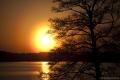 Abendsonne über Trakai