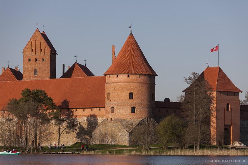 Wasserburg Trakai: Wehrturm